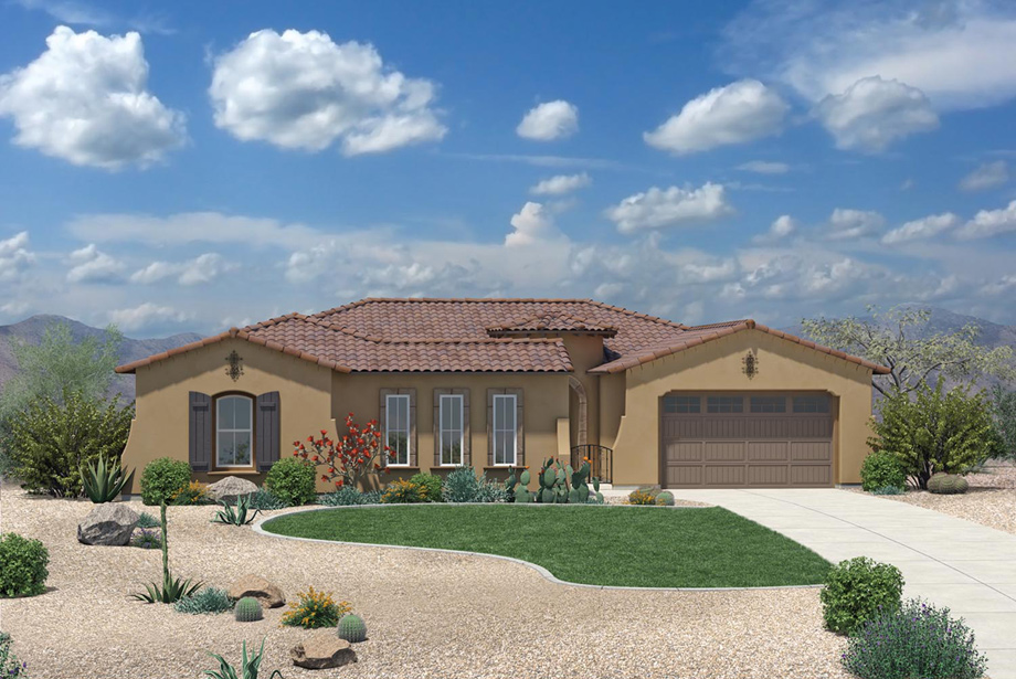Toll Brothers Los Saguaros Escada Floor Plan