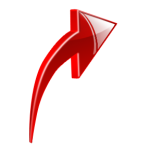 newsletter Arrow Red