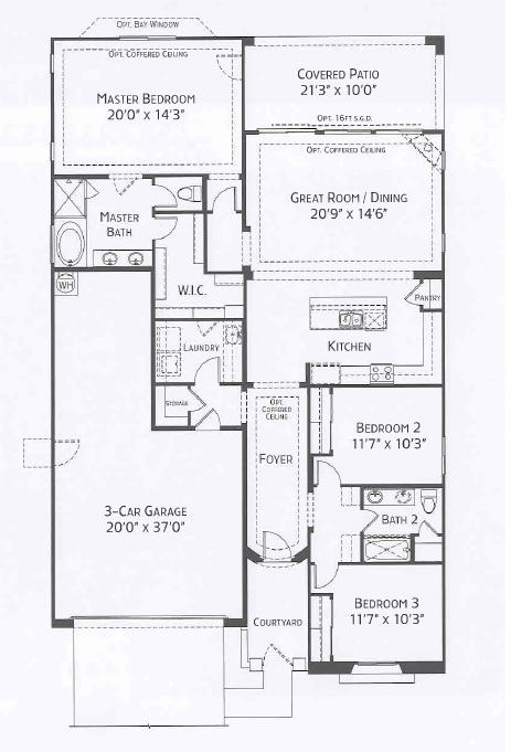 Center Pointe Vistoso Pima Floorplan