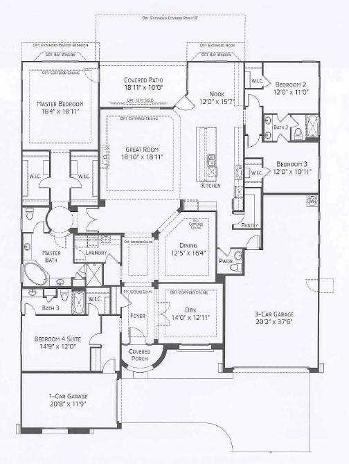 Center Pointe Vistoso Pinnacle floorplan