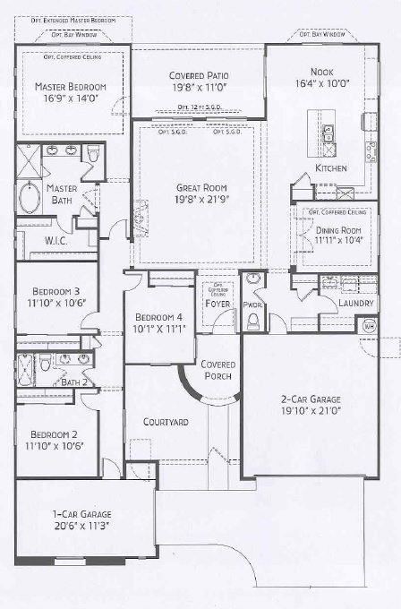 Center Pointe Vistoso Verbena Floorplan